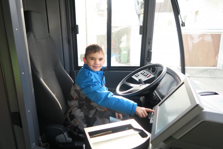 Busfahren aus anderer Perspektive