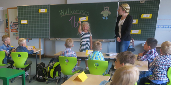 Klasse 1a der Wiestalschule Emmingen