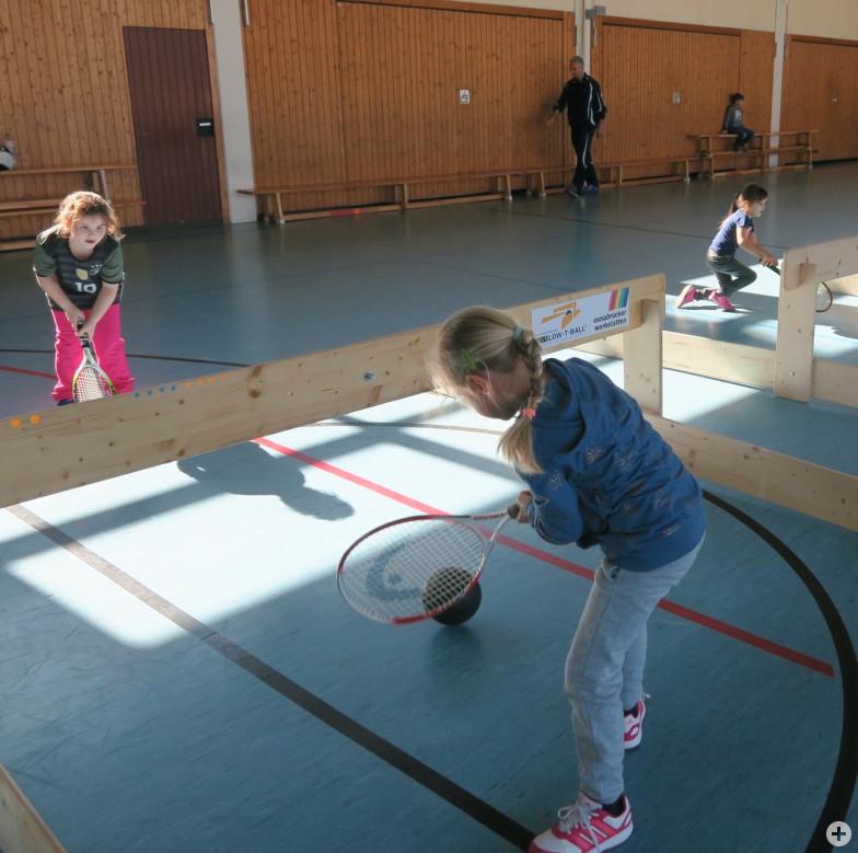 Tennis-Schulung